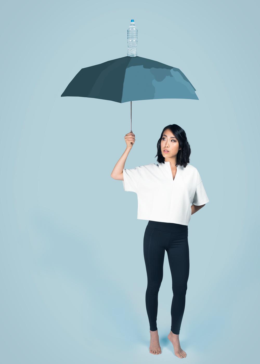 Legging It Rain